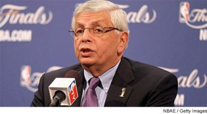 Il Commissioner David Stern