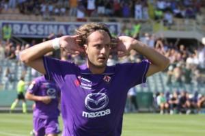 Gilardino segna di testa il primo gol della stagione