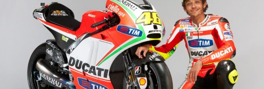 Valentino Rossi e la nuova GP12