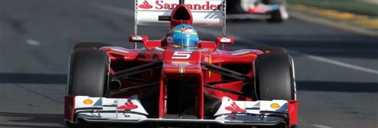 Alonso a Melbourne sulla F2012