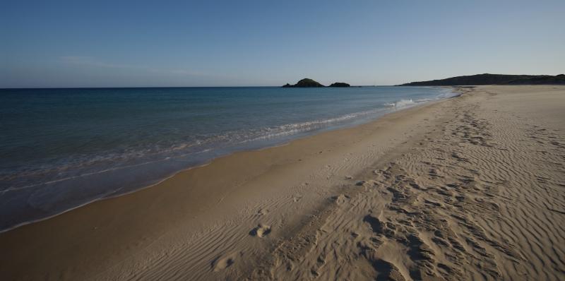 La spiaggia di Chia Su Giudeu in Sardegna