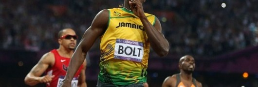 Usain Bolt campione olimpico sui 200 metri