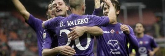 Festa viola a S.Siro. Milan-Fiorentina 1-3