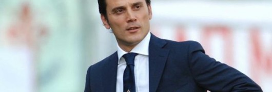 Montella, allenatore della Fiorentina
