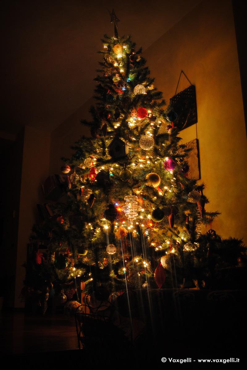 L'Albero di Natale addobbato da mia figlia