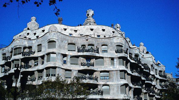 """Barcellona - Casa Milà """"La Pedrera"""""""
