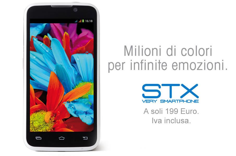 Lo smartphone STX della Stonex