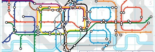 150 della Metropolitana di Londra con un Doodle