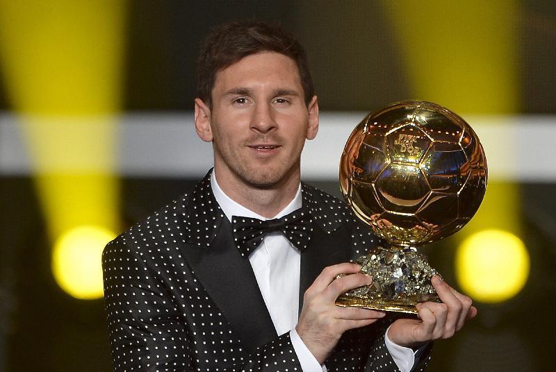Leo Messi è Pallone d'Oro per la quarta volta consecutiva