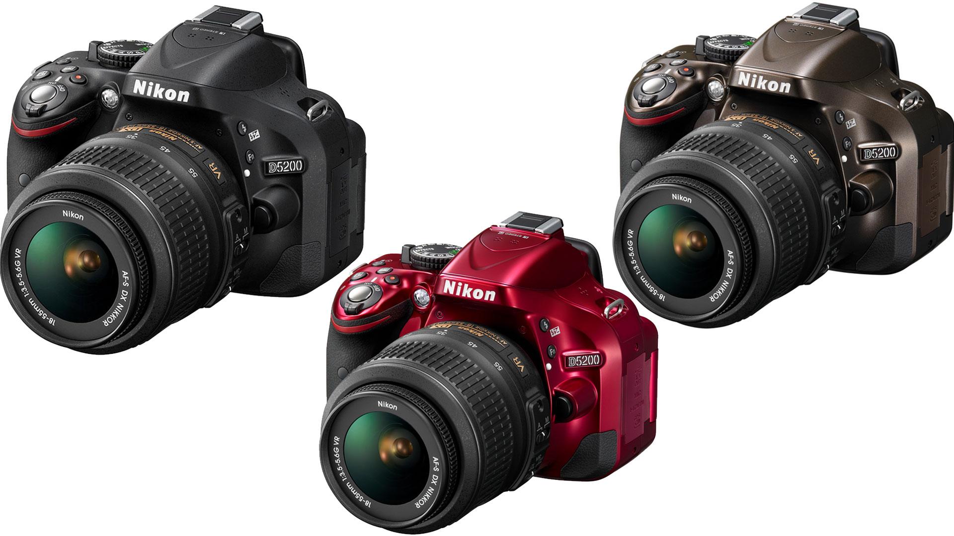 La Nikon D5200 nelle sue colorazioni - Reflex Nikon