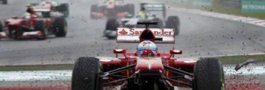 Alonso out in Malesia 2013