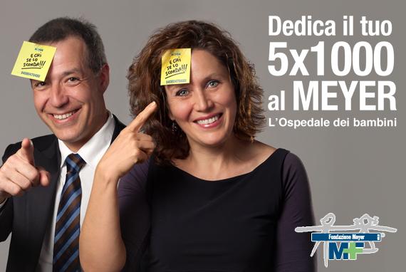5x1000 al Meyer - Ospedale Pediatrico Fiernze