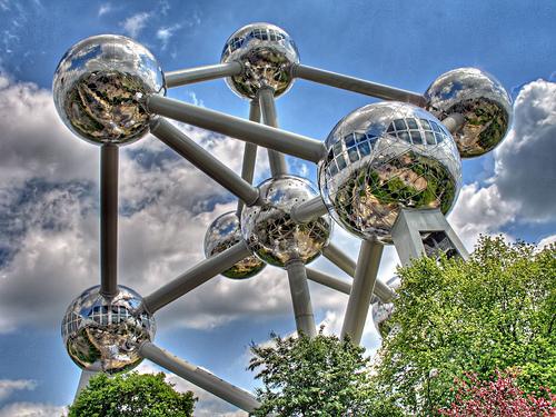 L'Atomium di Bruxelles