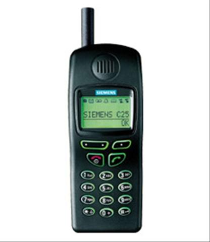 Il Siemens C25, il mio primo cellulare