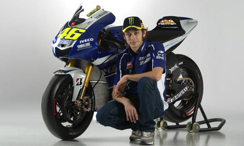 Valentino Rossi e la Yamaha 2013 MotoGP