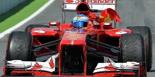 Alonso ha dominato il GP di Spagna 2013