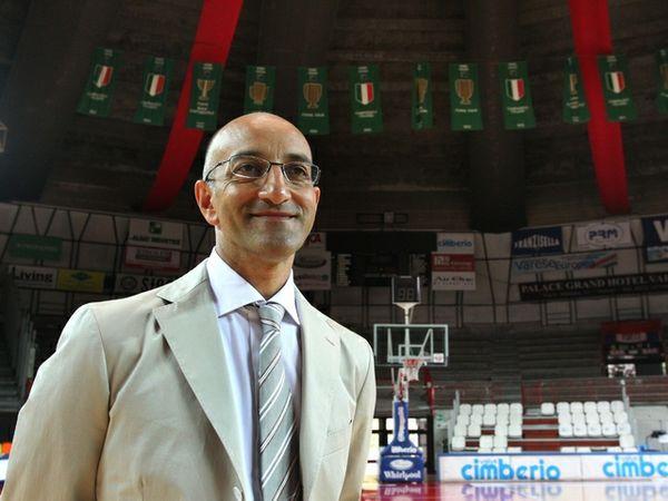Franck Vitucci, coach di Varese