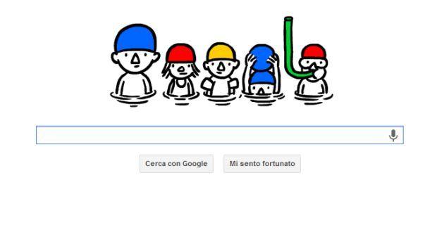 """Il Google Doodle per il """"Solstizio d'estate"""""""