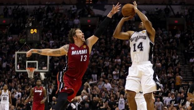 113-77 per gli Spurs sugli Heat in gara3