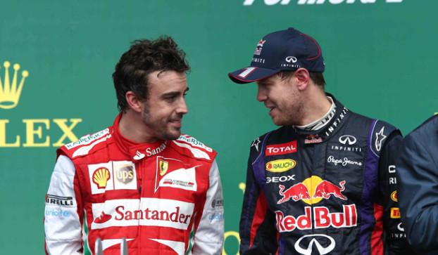 Alonso vorrebbe la RB9 di Vettel fra le mani