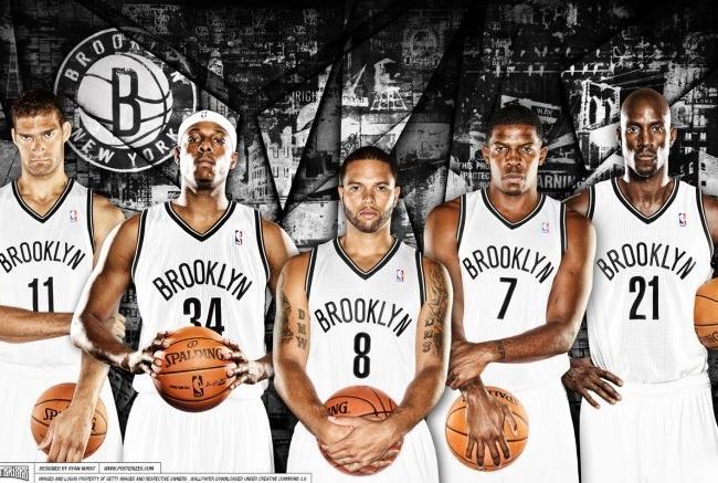 Il quintetto dei Nets per la stagione 2013/2014