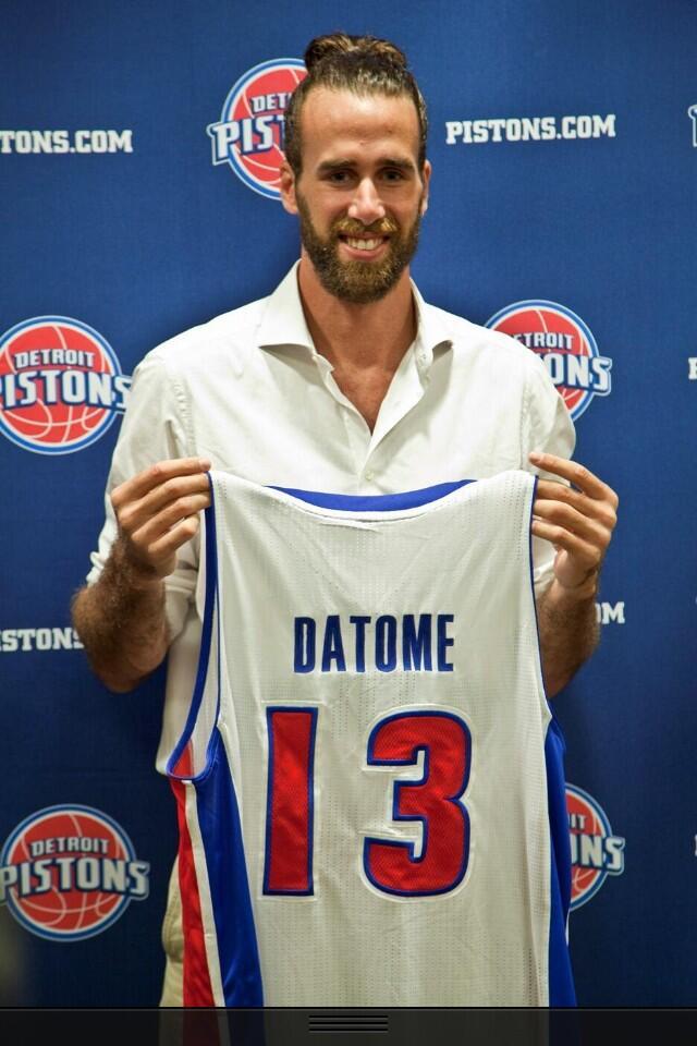 Gigi Datome ai Detroit Pistons