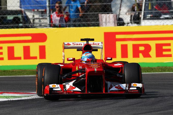 Alonso impegnato a Monza 2013