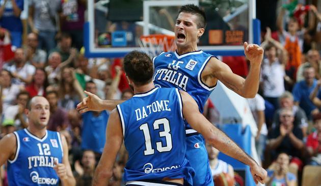 4 su 4 per gli Azzurri ad #Eurobasket2013