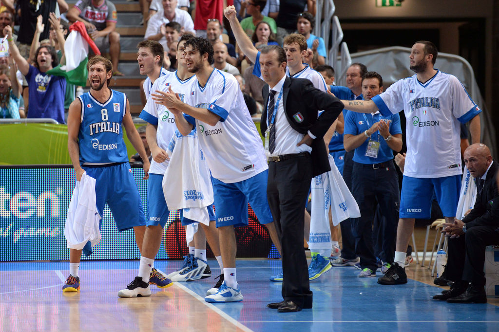 L'Italia ai Quarti di Finale di #Eurobasket2013