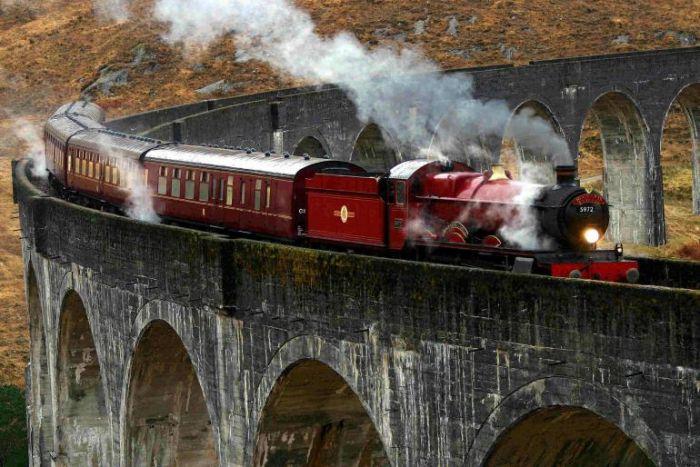 Il treno di Harry Potter è sempre in orario