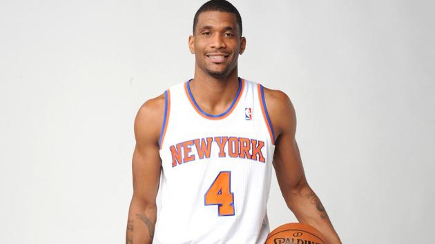 James White con la maglia dei Knicks