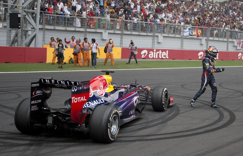 Vettel Campione del Mondo per la 4^a volta consecutiva