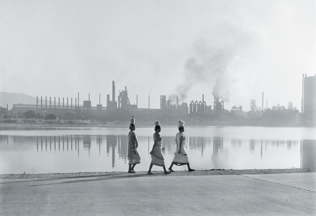 Una foto di Werner Bischof scattata in India