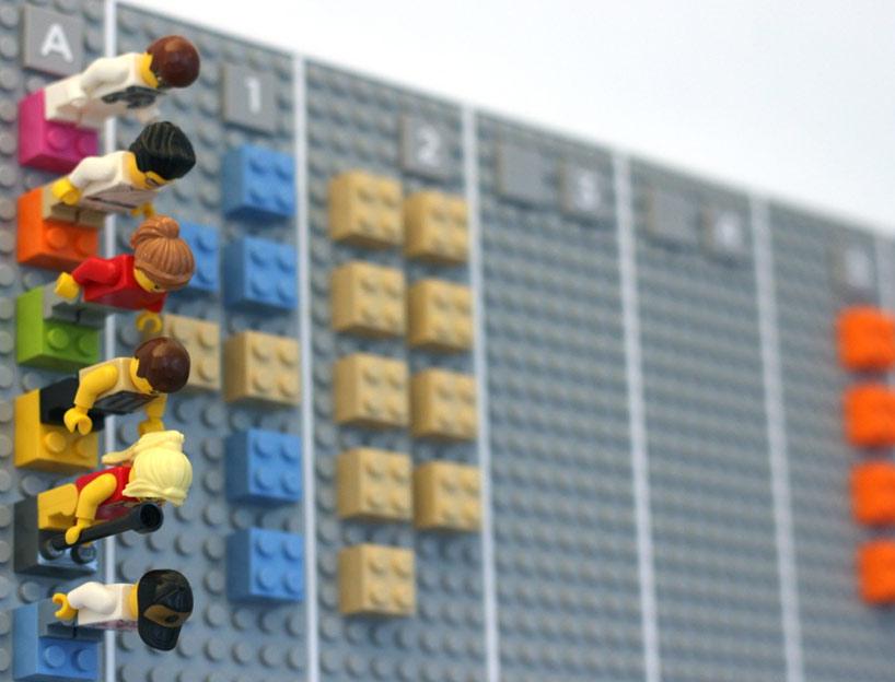 I dipendenti nel Lego Calendar