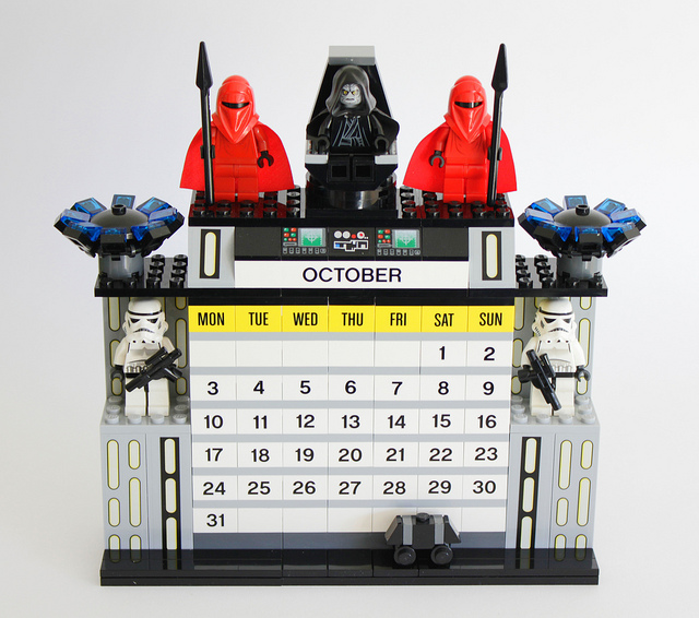 Calendario Lego Star Wars mese di Ottobre