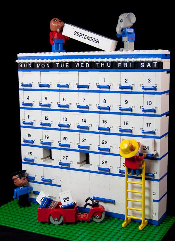 Calendario Lego Settembre