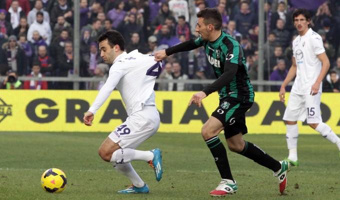 Giuseppe Rossi contro il Sassuolo