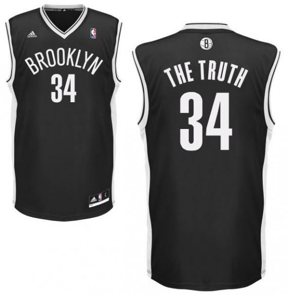 """La maglia n°34 con """"The Truth"""" di Paul Pierce"""