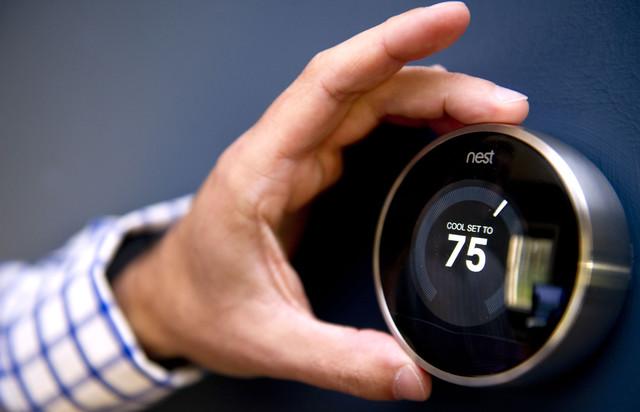 La facilità di regolazione del termostato Nest