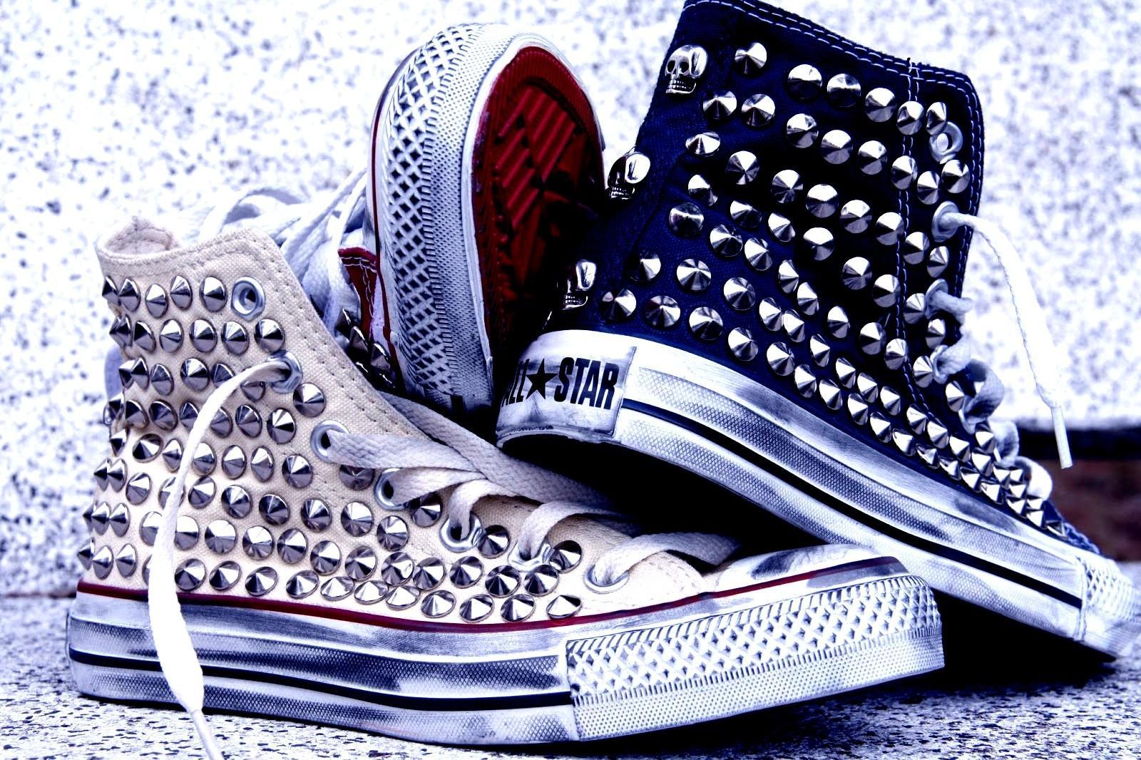 borchie per scarpe converse termoadesive
