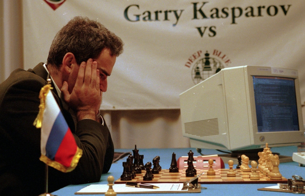 Garry Kasparov contro Deep Blue