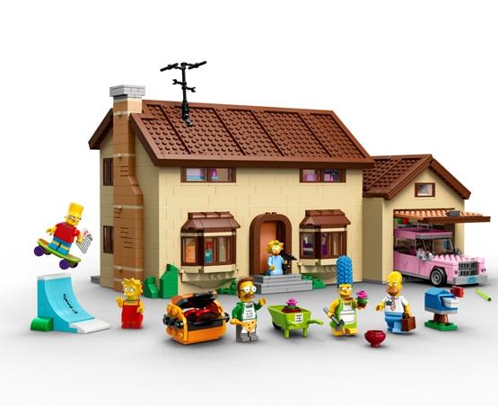 Lego: la casa dei Simpson