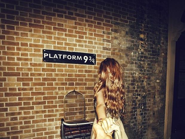 Follow Me: il binario 9 e 3/4 di Harry Potter