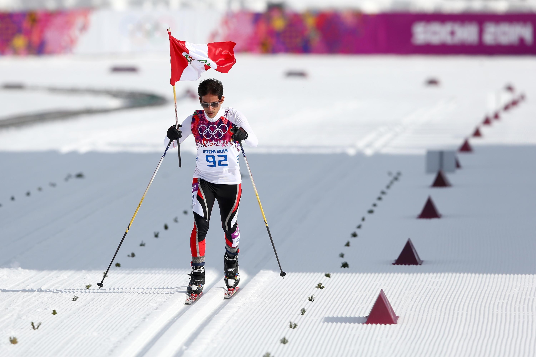 Lo spirito olimpico del peruviano Roberto Carcelen