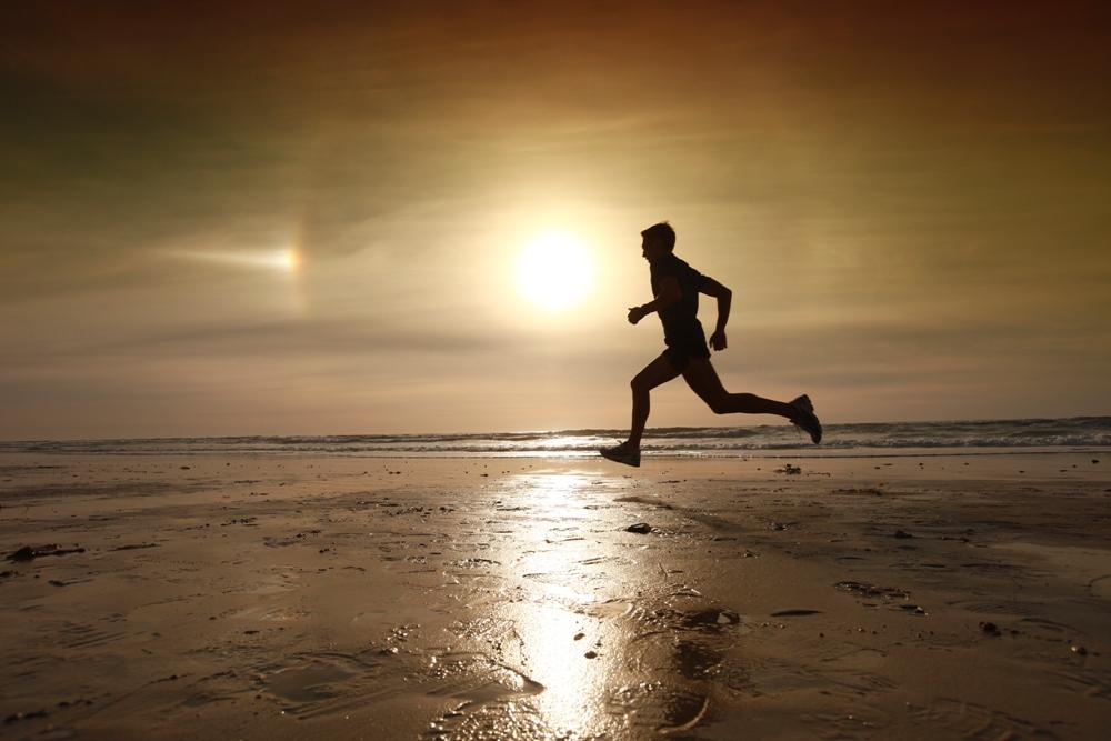 Runner in controluce