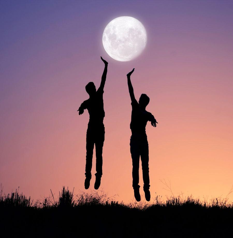 Adrian Limani - Giochi con la Luna