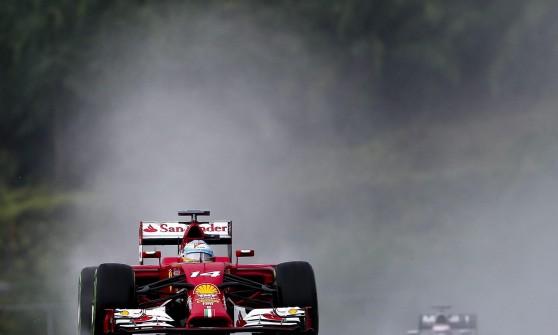 Alonso in azione in Malesia
