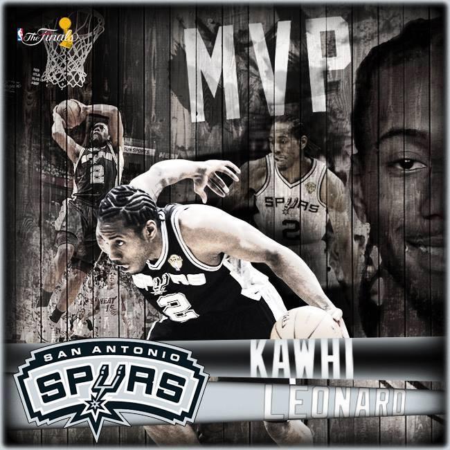 Kawhi Leonard MVP delle Finals 2014