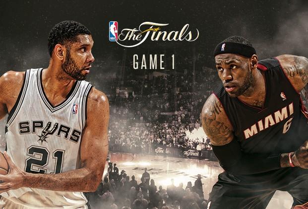 NBA Finals: gli Spurs cercano la rivincita contro gli Heat