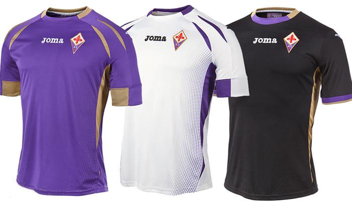 La maglia della Fiorentina per la stagione 2014/2015
